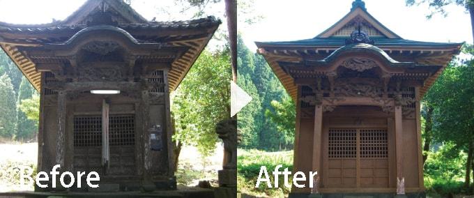 岐阜・威徳神社